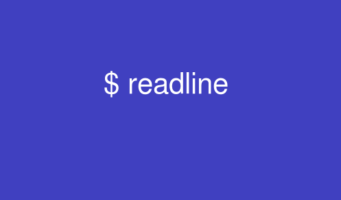 readlineコマンドの使い方: UNIX/Linuxの部屋