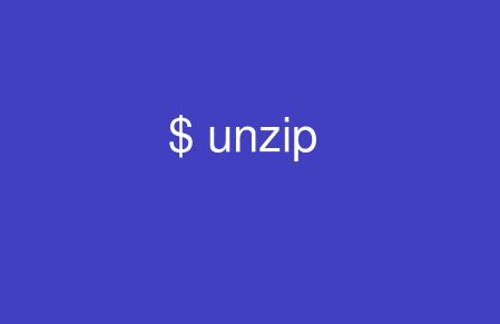 Linux Unzip